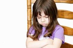 pouting ребенка Стоковые Фотографии RF