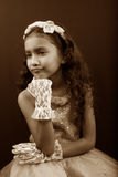 Pouting Sad Girl Stock Images
