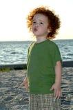 Pouting toddler Stock Photo