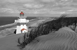 Pouto Lighthouse - Kaipara, Northland, new Zealand Royalty Free Stock Image