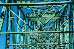 Poutrelles et membres du pont en acier Images libres de droits