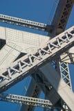 Poutres de pont en étage : Brisban Photographie stock