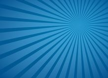 Poutres radiales bleues de ciel et lignes abstraites fond de rayons de vecteur illustration stock