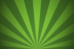 Poutres vertes et lignes radiales abstraites fond de rayons illustration de vecteur