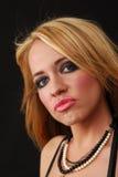 pouty γυναίκα Στοκ εικόνες με δικαίωμα ελεύθερης χρήσης