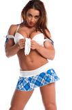 Pouty Cheerleader Royalty Free Stock Photography