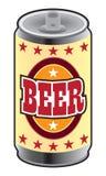 Pouvez de la bière illustration libre de droits