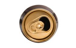 pouvez de la bière d'isolement photos stock