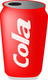 Pouvez du kola Photo libre de droits