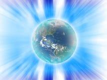 Pouvoir abstrait de la terre illustration libre de droits
