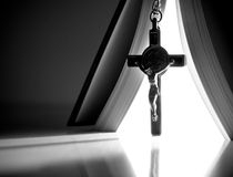 Pouvoir biblique de la foi photo libre de droits
