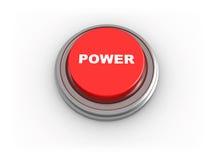 pouvoir de bouton illustration stock
