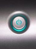 pouvoir de bouton Photos libres de droits