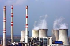 pouvoir de centrale nucléaire Photographie stock