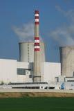 pouvoir de centrale nucléaire images libres de droits
