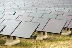 pouvoir de centrale solaire Photos stock
