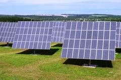 pouvoir de centrale solaire Images libres de droits