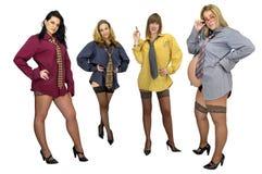 Pouvoir de femmes Images stock
