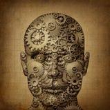 Pouvoir de la créativité humaine illustration de vecteur