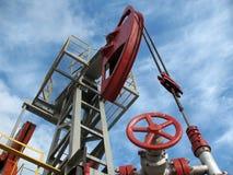 Pouvoir de pétrole Images stock
