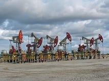 Pouvoir de pétrole Photos stock
