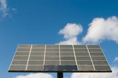 pouvoir de panneau de cellules solaire Photographie stock libre de droits