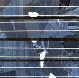 pouvoir de panneau de fond solaire Photo stock