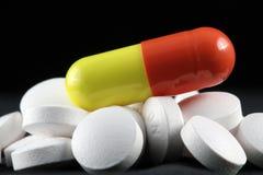 Pouvoir de pilule Photos libres de droits
