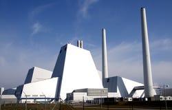 pouvoir de pollution de centrale Image libre de droits