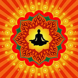 Pouvoir de yoga Images stock