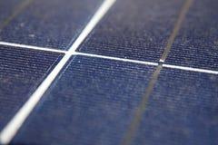 pouvoir Espagne du sud solaire de centrale de panneaux Photos libres de droits