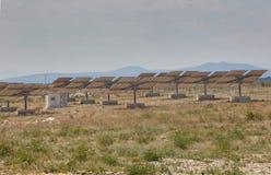 pouvoir Espagne du sud solaire de centrale de panneaux Image stock