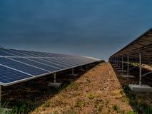 pouvoir Espagne du sud solaire de centrale de panneaux Photo libre de droits