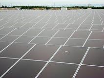pouvoir Espagne du sud solaire de centrale de panneaux Photographie stock