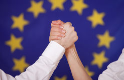 Pouvoir européen Photo stock