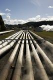 pouvoir géothermique de centrale Photo libre de droits