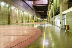 pouvoir hydro-électrique de centrale d'itaipu photographie stock libre de droits