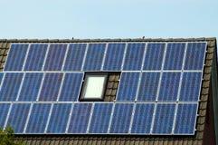 pouvoir solaire Photographie stock