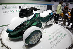 Pouvoir-Suis le roadster d'hybride de Spyder Photo stock