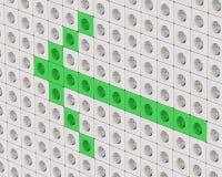 Pouvoir vert Image libre de droits