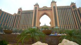 POV σε Atlantis από την εσωτερική περιοχή του ξενοδοχείου απόθεμα βίντεο