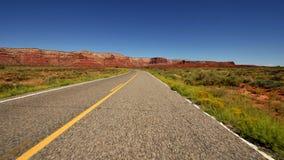 POV Drive στο έθνος Ναβάχο - χρονικό σφάλμα - 4K - 4096x2304 απόθεμα βίντεο
