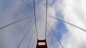 POV Driving Across the Golden Gate Bridge Daytime San Francisco stock video