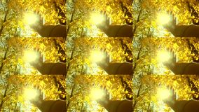 POV of hand of man who moves it in air, through fingers through rays. Multicam split screen group montage. Abstract animation wall. POV of hand of man who moves stock video