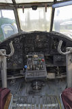 PoV of the pilots of a Antonov An-2 aircraft Royalty Free Stock Images