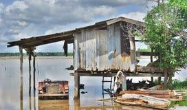 Povera costruzione Fotografia Stock Libera da Diritti