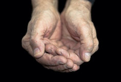 Povertà fotografia stock libera da diritti