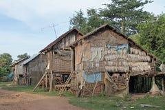 Povertà in Cambogia Fotografie Stock Libere da Diritti