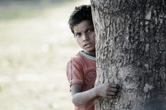 Povertà di Hided… Immagini Stock Libere da Diritti