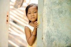 Povertà e fame Fotografie Stock Libere da Diritti